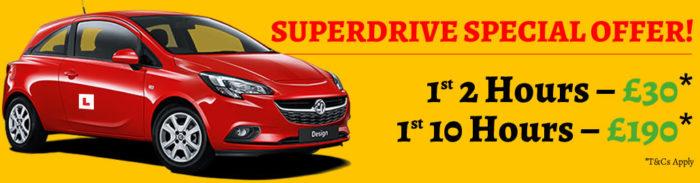 Superdrive School Offer